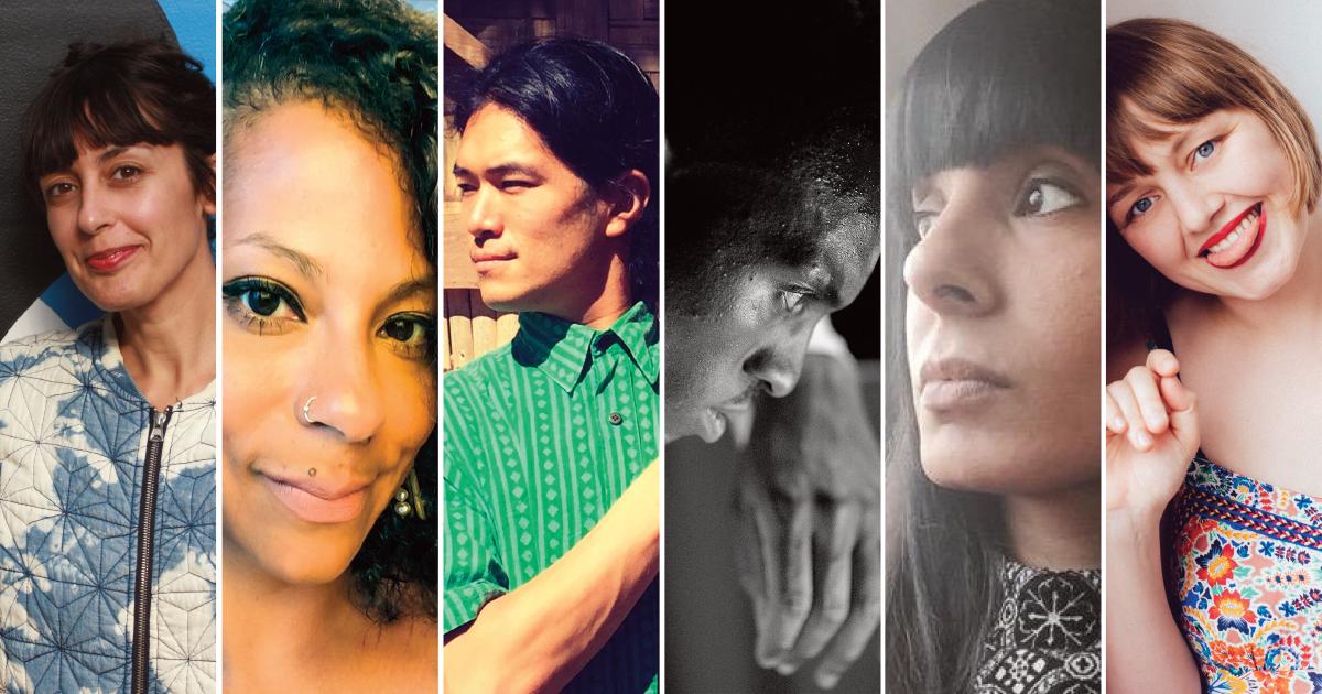 Images of 4 Vital Spark artists
