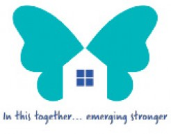Image of house in a butterfly