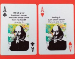 Image of shakespeare cards